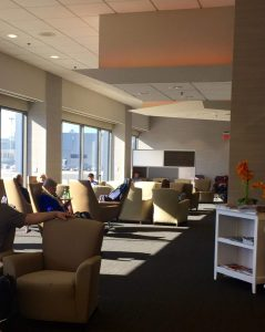 Priority Pass lounge in Boston Logan Airport