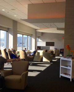 Priority Pass lounge in Boston Logan Airport