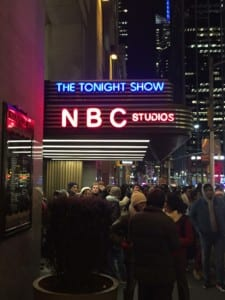 Tonight Show at NBC Studios