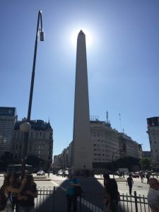 Obelisk on Avenida 9 de Julio