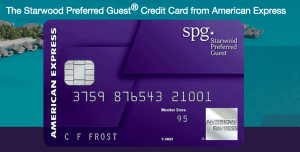 SPG credit card from American Express