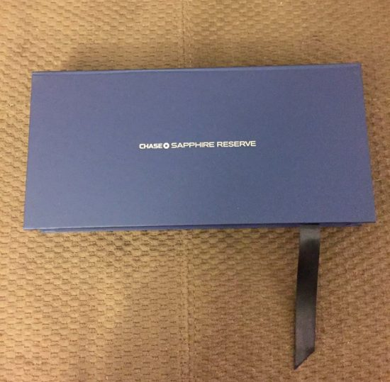 Chase Sapphire Reserve Box
