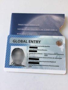 Global Entry Card