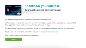 Barclays Pending Application