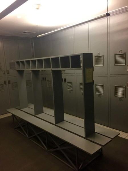 Lockers at Ako Spa, Grand Hyatt Santiago