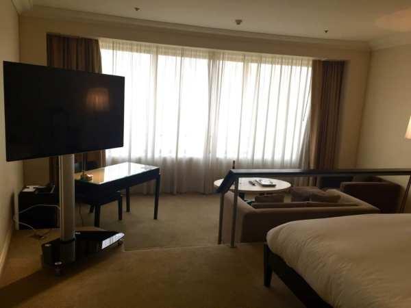 Grand Hyatt Santiago hotel room
