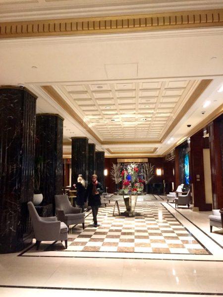 JW Marriott Essex House Lobby