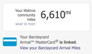 Barclaycard Travel Community Miles