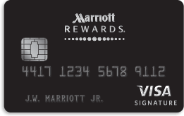 Marriott Rewards Credit Card from Chase