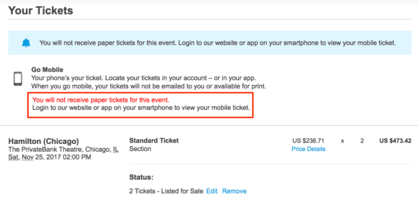 ticketmaster mobile tickets
