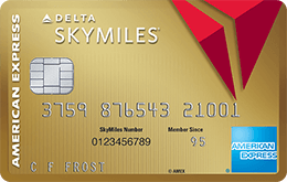 Gold Delta Credit Card from American Express