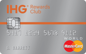 IHG Credit Card from Chase