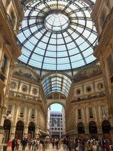 ia Vittorio Emanuele II, Milan