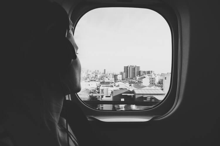 Airplane window
