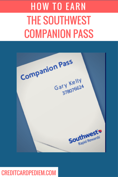 Earning the Southwest Companion Pass