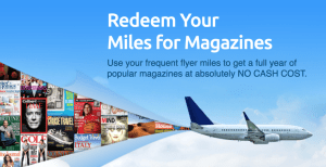 miles for magazines