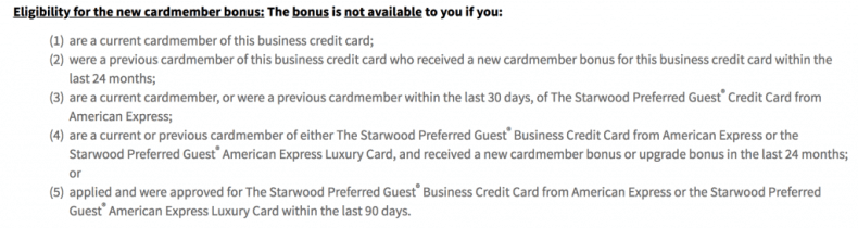 Marriott Business Rules