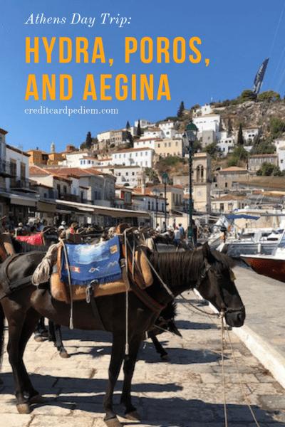 Athen's Day Trip: Hydra, Poros, Aegina