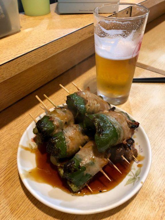 Meal in Shinjuku