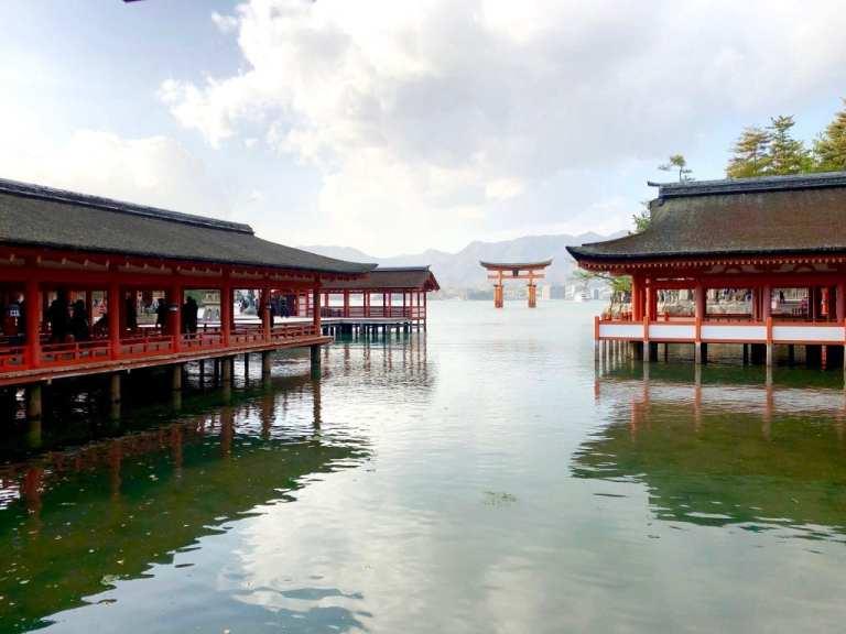 Istukushima Shrine in Miyajima