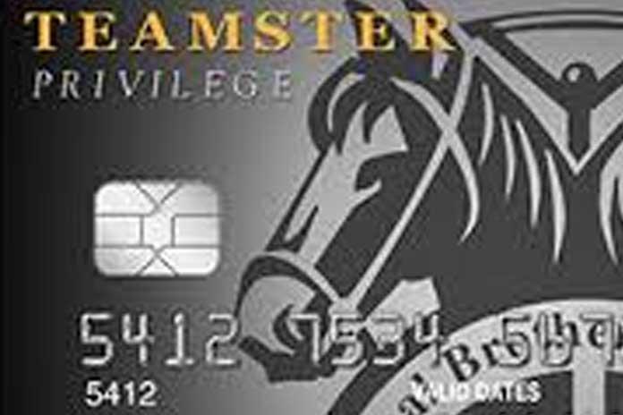 Teamsters Credit Card