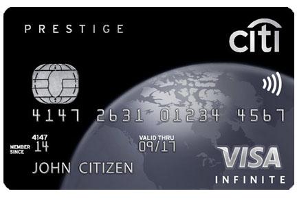 Citi Prestige Visa Review