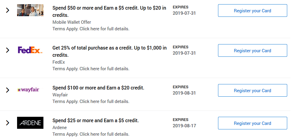 AMEX Offers Review