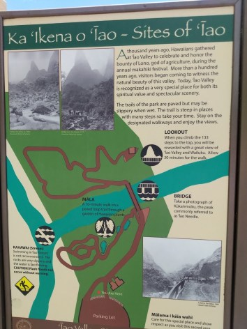Iao Valley Trail Map