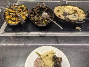 Centurion Lounge DFW - Food