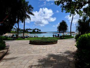 Ko Olina Beach Entrance