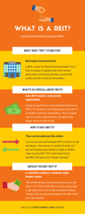 What is a REIT Infographic