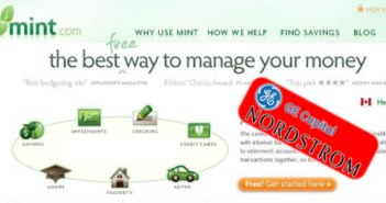 GE Capital, Nordstrom Ban Mint.com Users