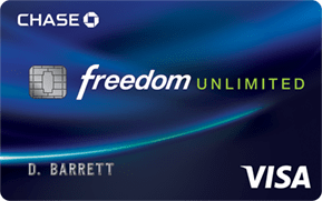 Visa Chase Freedom Unlimited Card Logo