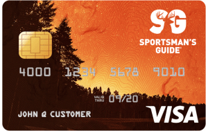 Sportsman's Guide Visa Card Art