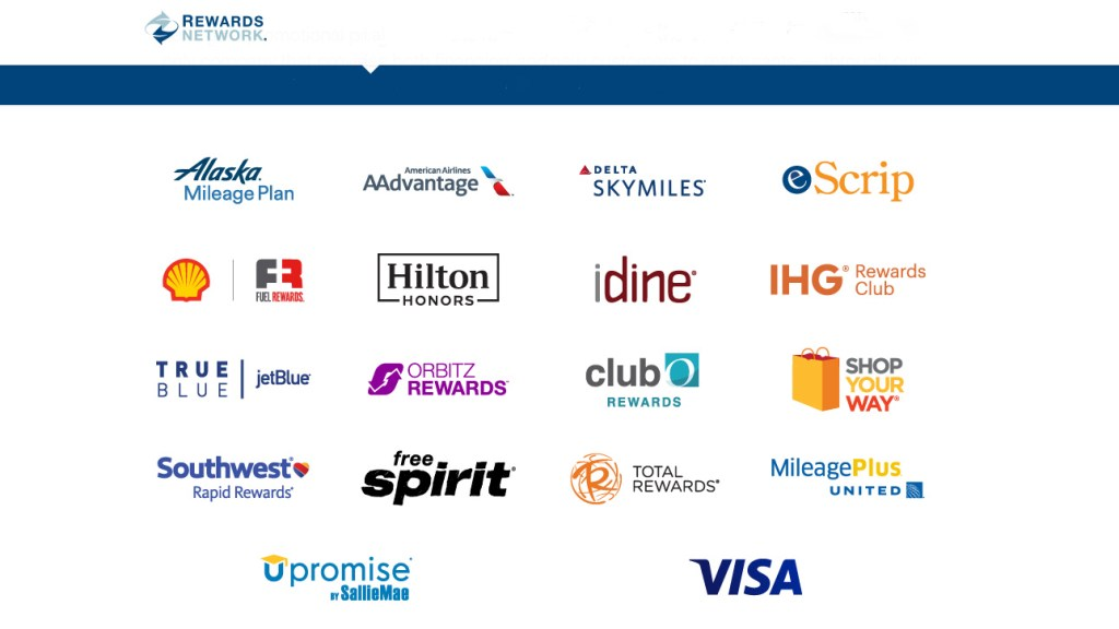 Rewards Network Partners