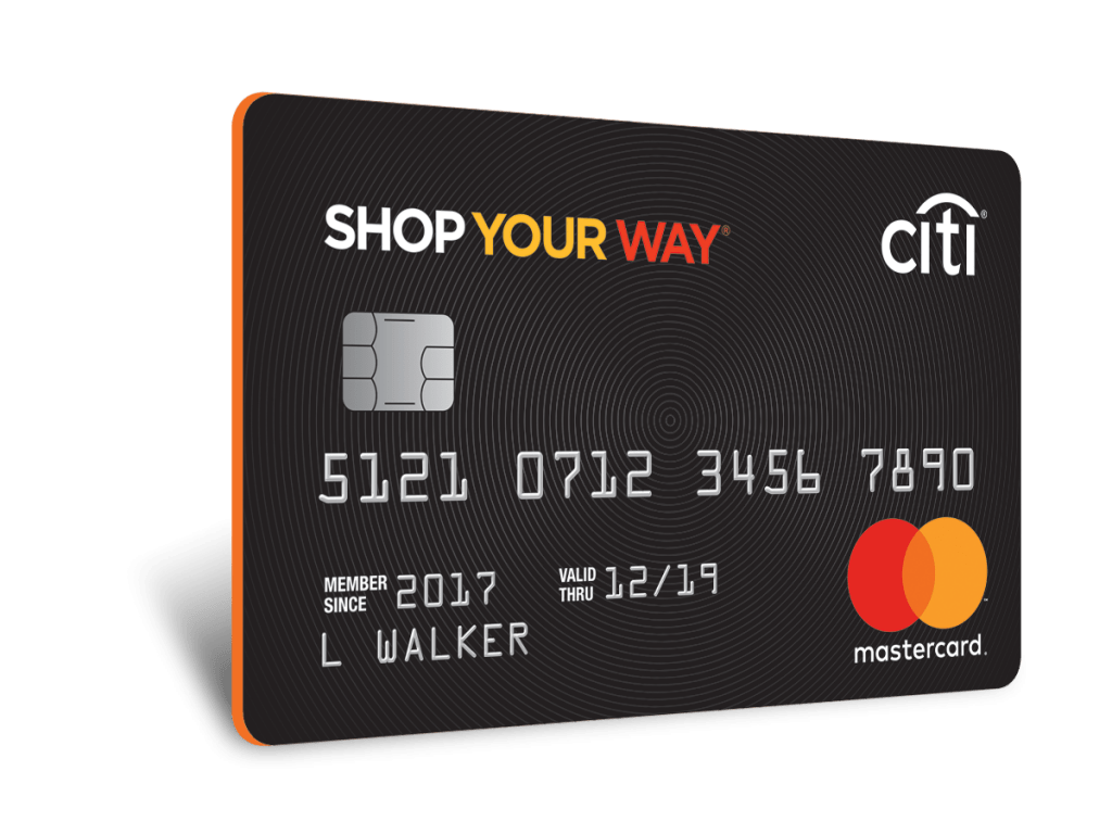 Shop Your Way points are easy to earn with the Shop Your Way MasterCard Citi Sears credit card application.