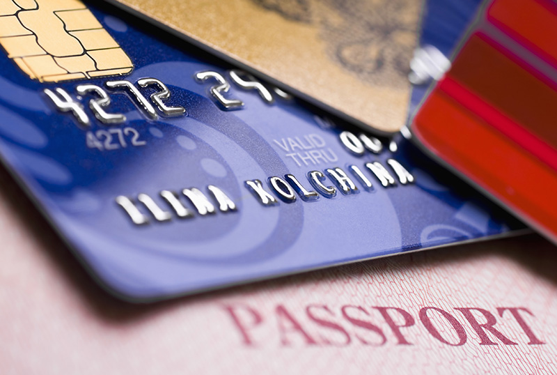 Traveling using a credit card have 13 advantages.