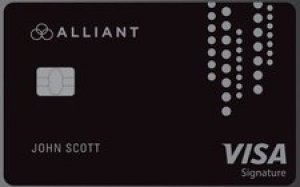 Alliant Visa Signature card