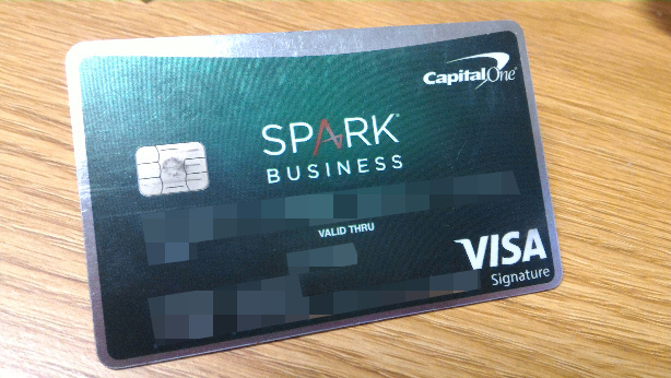 Check Application Status Here - Capital One Spark Business Credit Card