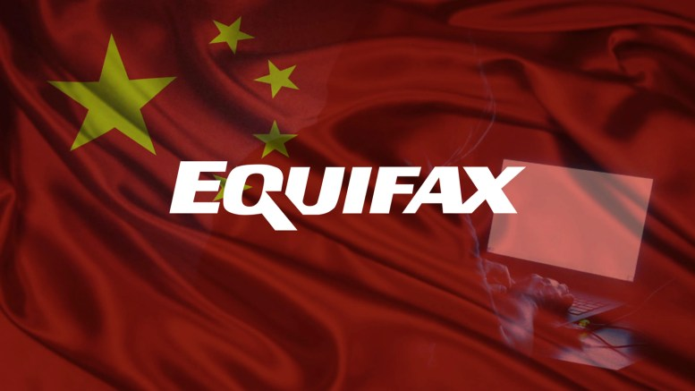 China Suspected for Equifax Data Breach