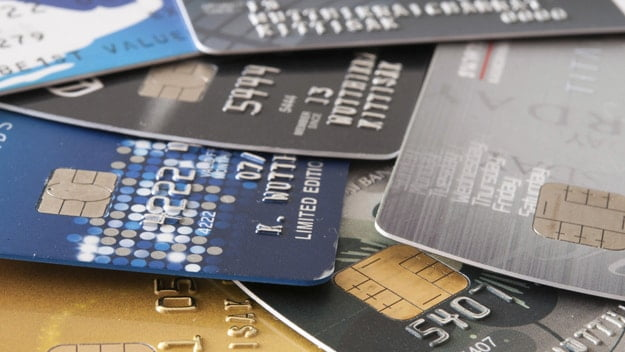 Credit Cards Piled