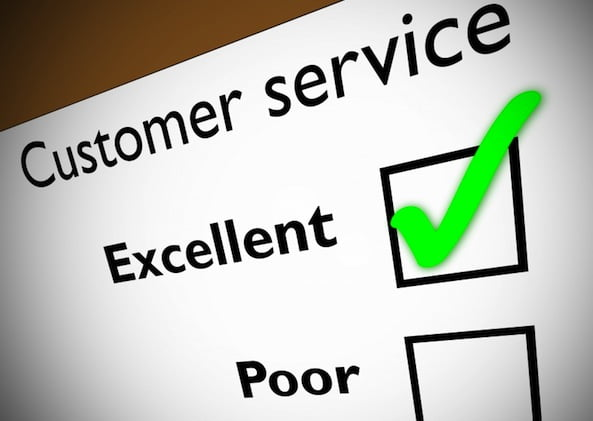 Customer Service Excellent Checked