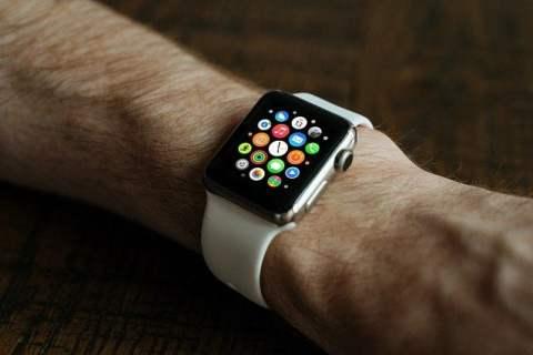 Apple Watch on App Grid