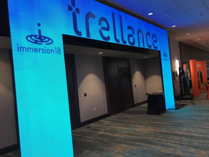 immersion18 Entrance Trellance