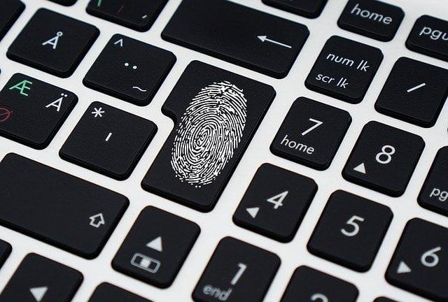 Fingerprint Key on Keyboard