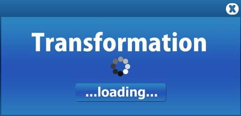 Transformation Loading Window