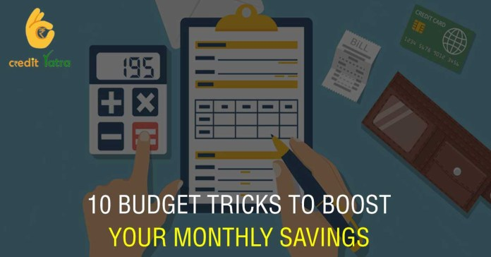 10 Budget Tricks to Boost Your Monthly Savings