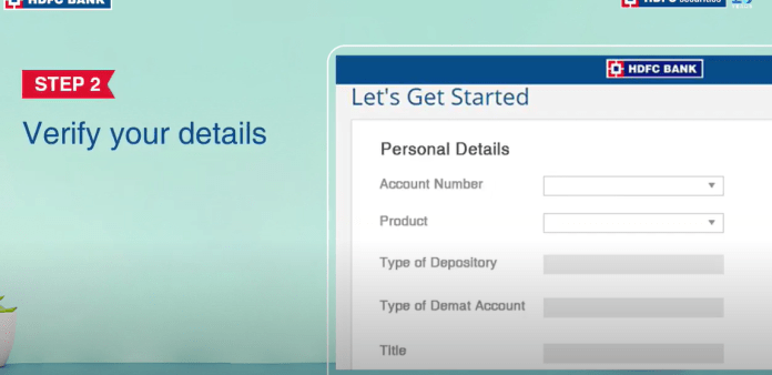 Demat Account with HDFC Bank Step-2