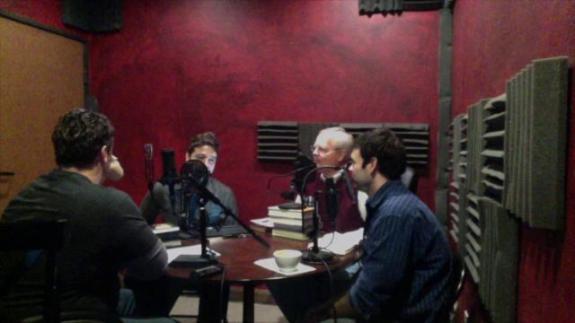 Theology Unplugged Podcast Recording Studio