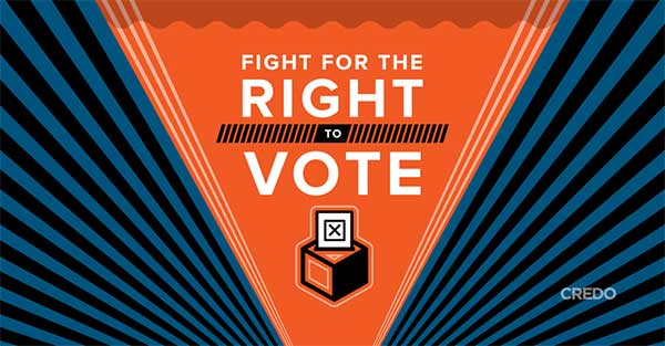 CREDO fight for the right to vote